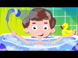 Bath Song  Nursery Rhymes For Kids And Childrens  Original Song From Zebra