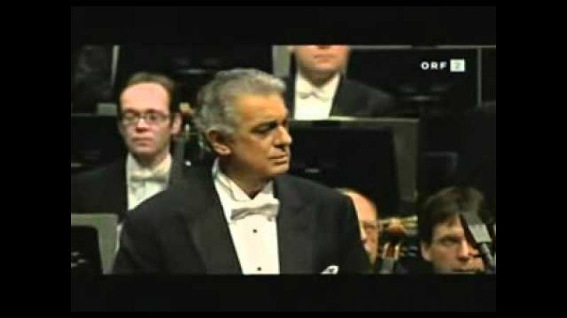 Duet of Radames Amneris - Placido Domingo Agnes Baltsa (from Verdi's Aida)