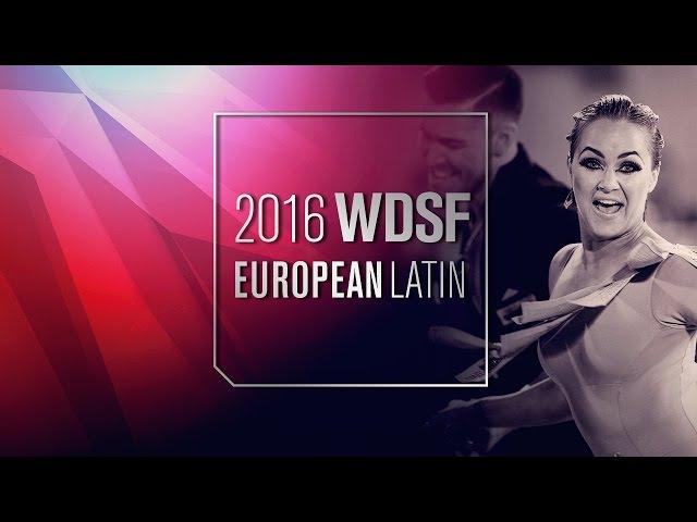 Lazzarini - Benedetti, ITA | 2016 European Latin R3 R | DanceSport Total