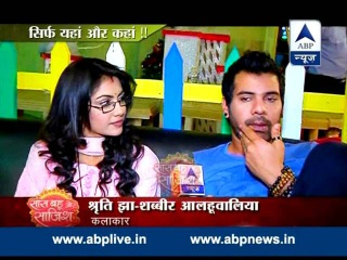 Pragya gives Abhi hot oil champi!