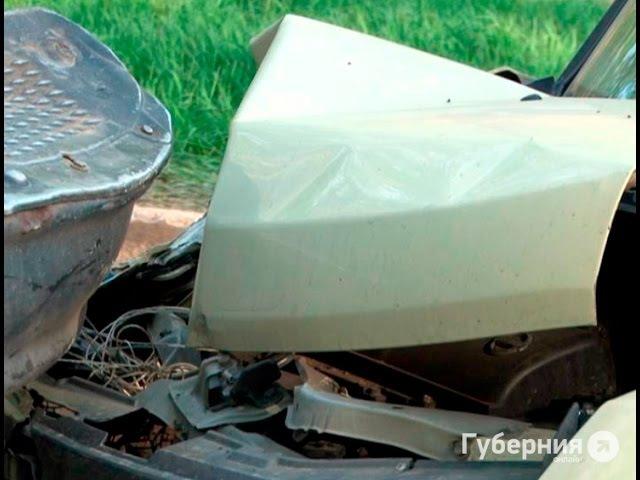 Хабаровская автолюбительница перепутала педали и попала в аварию .MestoproTV