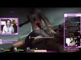 Стримерша Anorimia в Left 4 Dead 2: Зомби съели девушку заживо!