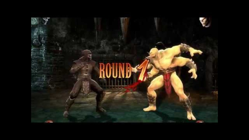 Прохождение без использования блоков на сложности Normal Noob vs Ladder (Mortal Kombat (2013))