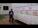 Перекрестное утепление каркасного дома Пирог каркасной стены Строй и Живи