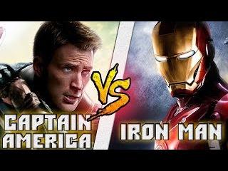 Капитан Америка vs Железный Человек / Captain America vs Iron Man (Tony Stark) Кто кого? [bezdarno]