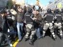 Razbijanje gej parade u Beogradu 10 oktobar 2010 drugi deo