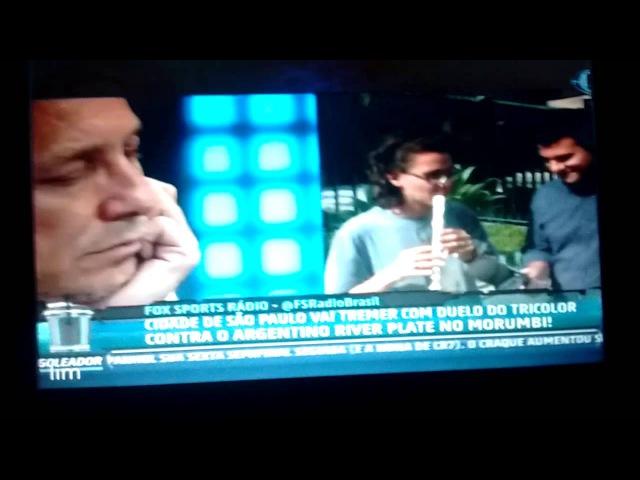 Momento épico do FOX Sports Rádio - O tocador de Flauta