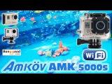 Обзор + тест Amkov AMK 5000S Action Camera with WiFi НОВАЯ КАМЕРА ДЛЯ КОПА И ПОДВОДНОГО ПОИСКА