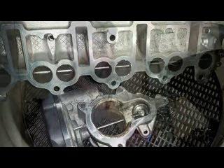 Чистка клапана ЕГР, дросселя и впускного коллектора на примере AUDI A4 S-LINE 2.0TDI 170л.с