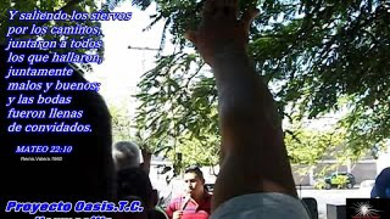 Fernando Montejo L.en Proyecto Oasis.part.. 1