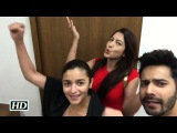 Badrinath Ki Dulhania: Gauahar Khan's Masti With Varun And Alia