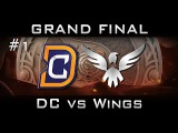 DC vs Wings Grand Final The International 2016 TI6 Highlights [Game 1] Dota 2