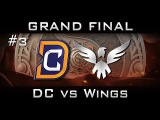 DC vs Wings Grand Final The International 2016 TI6 Highlights [Game 3] Dota 2