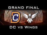 DC vs Wings - All Games Grand Final The International 2016 TI6 Highlights Dota 2