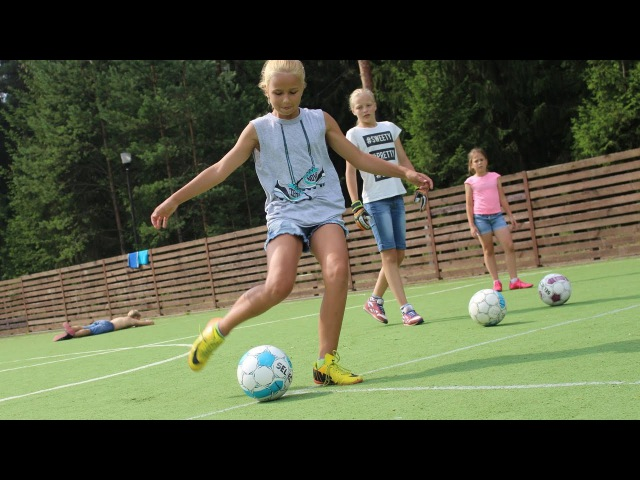 Футбол. Тов.Матч 13/03/17 Девочки-Минск(05) - Трактор-1(07) Soccer girls under 12