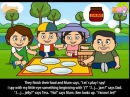 English For Children EFC with funny story the picnic