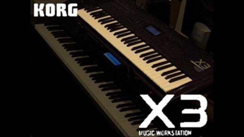 Korg X3 Demo Song 1 - T42
