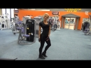 Ольга Путрова (Россия) - красивая фитнес-бикини модель. Тренировка в фитнес зале с комментариями. Рекомендую!