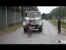 Силовой экстрим Верхнее Дуброво 2016.Тяга грузового автомобиля.