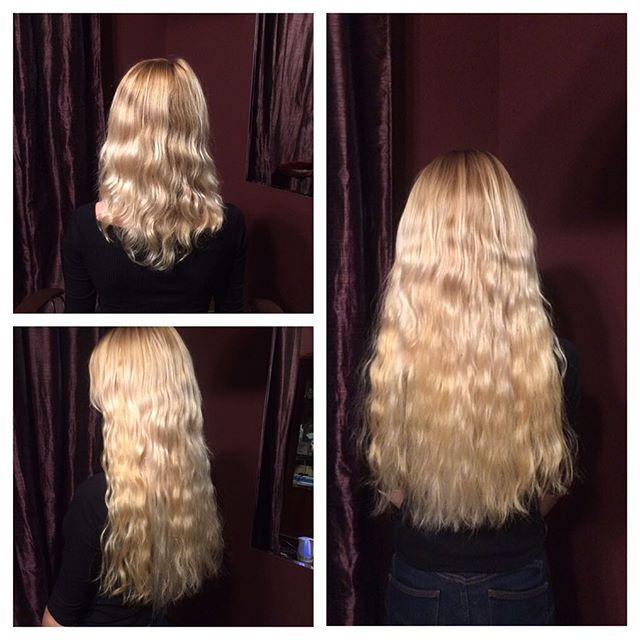 от см фото наращивание 30 волос