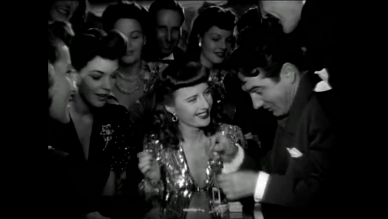 Ball of Fire (1941) Gary Cooper, Barbara Stanwyck, Dana Andrews