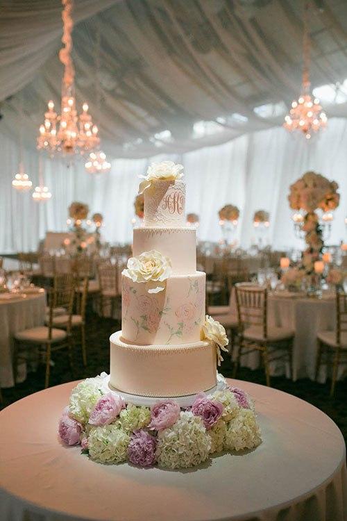 Свадебные торты 2017 (25 фото)