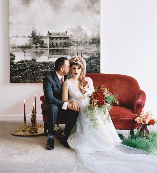 syWEeEK4QaU - Свадьба в стиле романтического творчества Шекспира (30 фото)