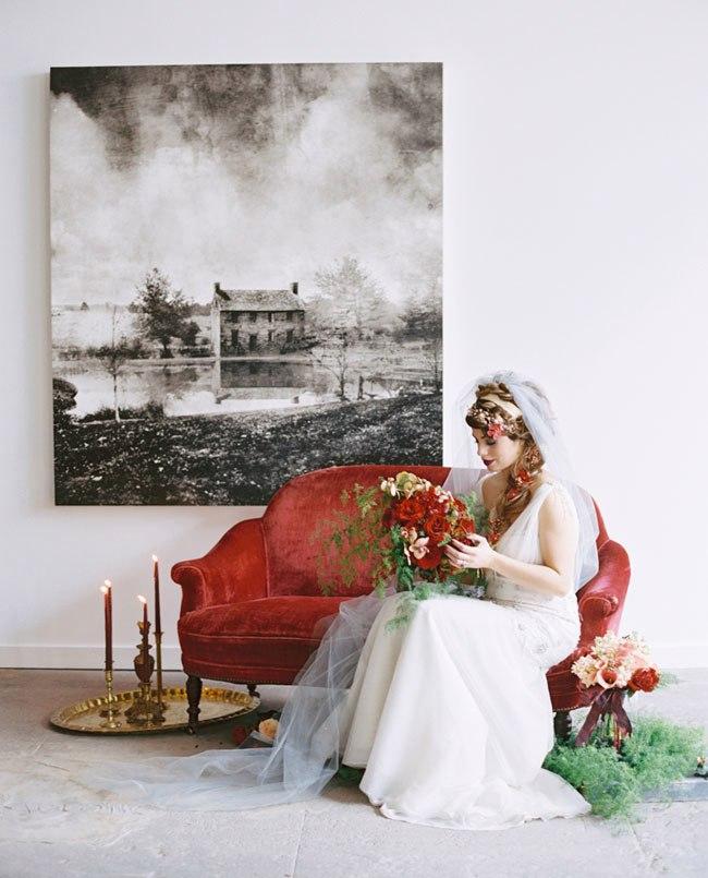 Свадьба в стиле романтического творчества Шекспира (30 фото)