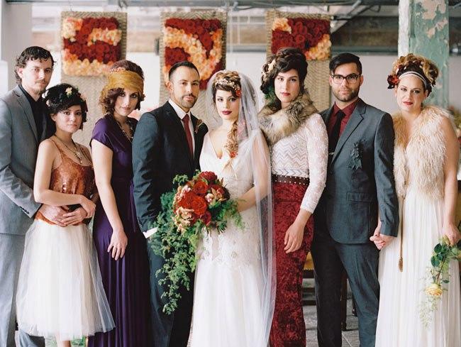 2dTcdRVVEvg - Свадьба в стиле романтического творчества Шекспира (30 фото)
