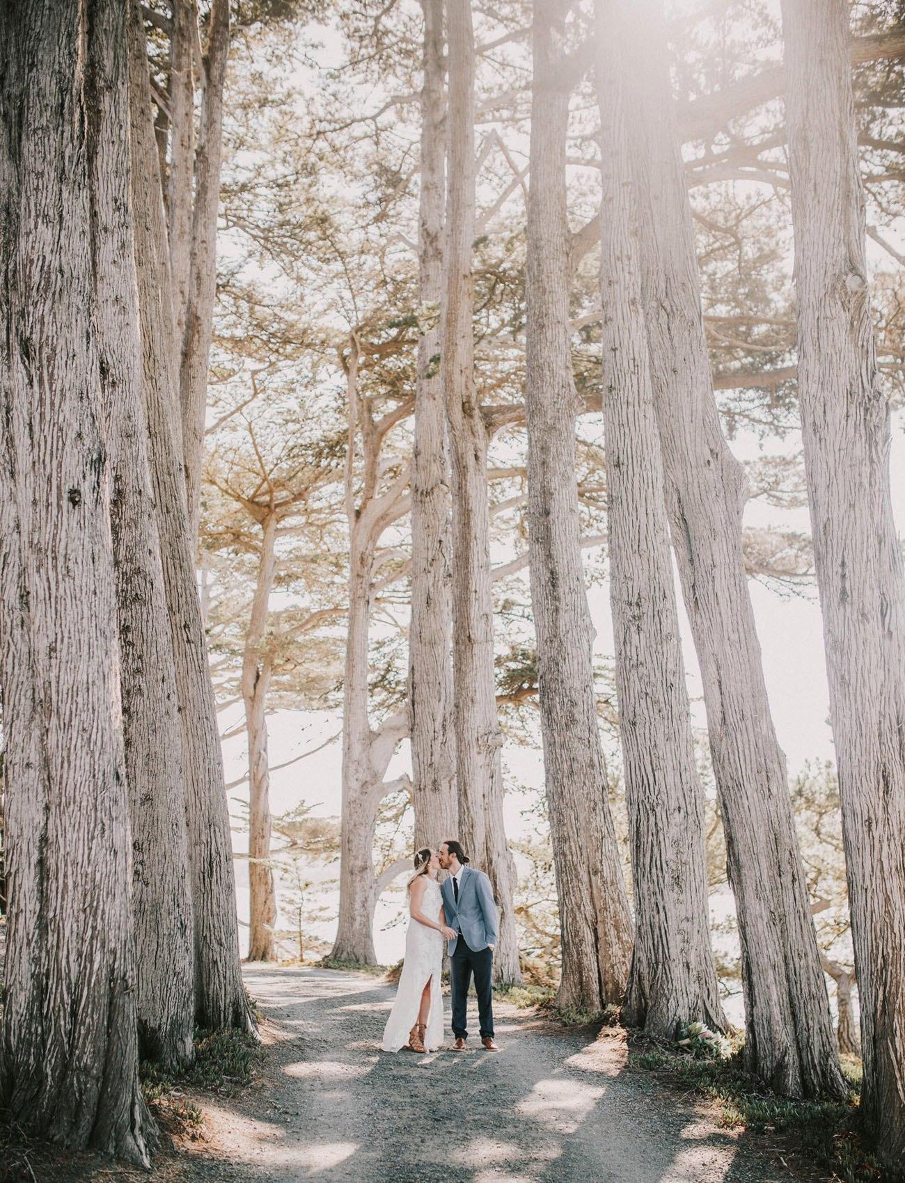V1 yt Fj4aE - Свадьба в заповедном лесу на берегу океана (26 фото)