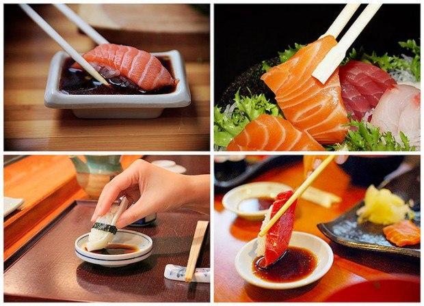 Правильное употребление японских блюд