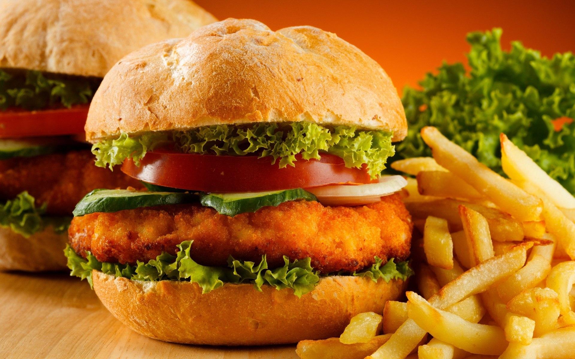 Бургер - символ фастфуда