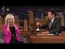 Joanna Lumley Drinks Lots Of Free Champagne Promoting Absolutely Fabulous|The Tonight Show Starring Jimmy Fallon