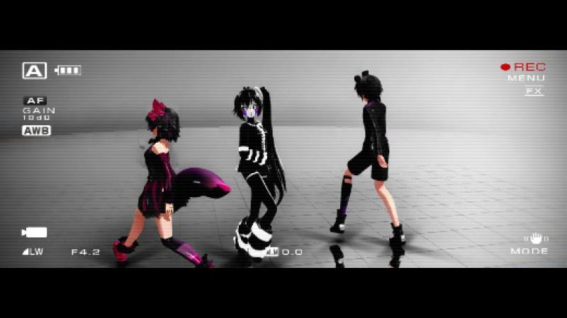 MMD ECHO MOTION配布用