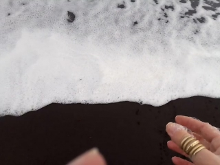 Тихий океан. Халактырский пляж
