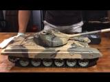 Новинка осени Радиоуправляемый танк Heng Long Танк Т90. Модель масштаба 1/16 с дымовым эффектом.
