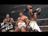 [WWE QTV]☆[Top 10]Superstar victory dances WWE]☆[Топ 10]Суперзвезды, танцуют победный танец WWE[