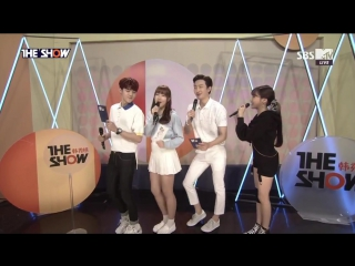 [CLIP] Tiffany - Interview (160517 / THE SHOW)