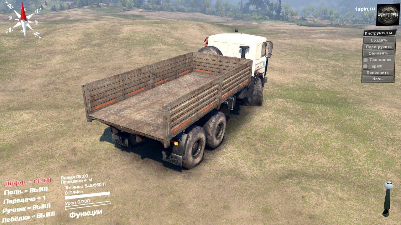 МАЗ-6317 6X6 для SpinTires 03.03.16 для Spintires - Скриншот 2