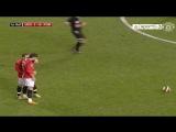 Невероятный гол Криштиану Роналду со штрафного удара в ворота «Портсмута»