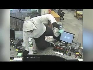 Неторопливый вор ограбил банк в Новой Зеландии