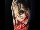 Татуировка Джокера от Dongkyu