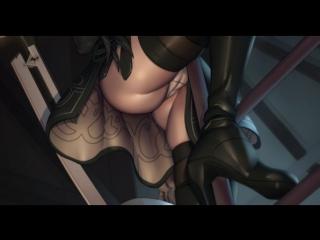 Что будет, если заглянуть главной героине Nier: Automata под юбку.