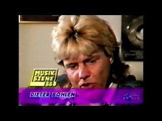Dieter Bohlen - Musikszene 88 (interview) русский перевод