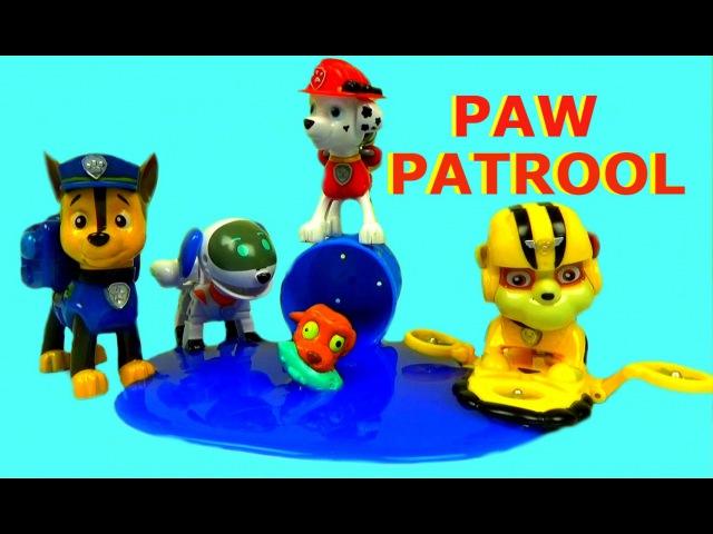 Щенячий Патруль СПАСЕНИЕ ЩЕНКА Игрушки ЩЕНЯЧИЙ ПАТРУЛЬ Paw Patrool Toys Детское видео