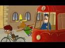 Новые мультфильмы Летающие звери серия 41 ПУТЕШЕСТВИЯ - Похитители велосипедов (Италия)
