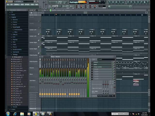 Fl Studio 9 - My Metal Config (Fl Slayer sounding good!!)