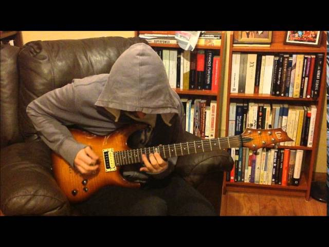Game of Thrones theme (Guitar Cover with LTD H-101FM)