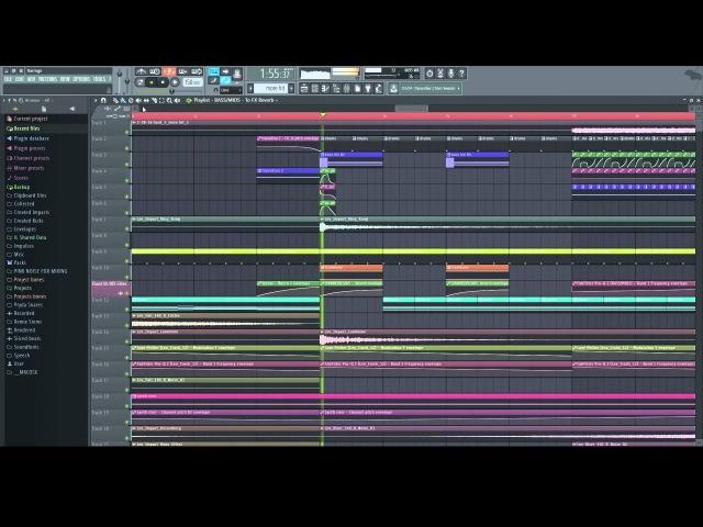 Teramite Barrage Dubstep FL Studio 12 Playthrough