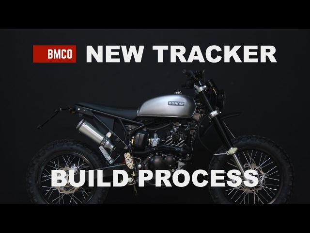 Born New Tracker 125 build 2 - Motorcycle Modification Process 05
